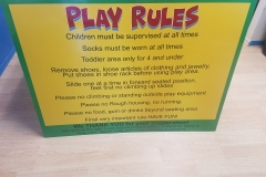 The Bounce Place 4ft x 3ft coroplast sign (1)