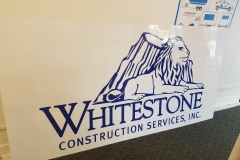 Metal signs with vinyl lettering and graphics (11)