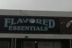 Metal signs with vinyl lettering and graphics (3)