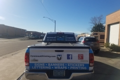 RAM vinyl lettering and graphics (1)