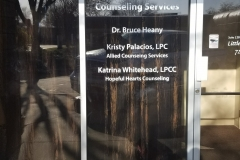 Allied Counseling Window Lettering