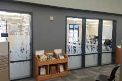 High Plains Carbon Valley Library Conference room window vinyl (2)