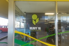 Vinyl window lettering, graphics and perforation (7)